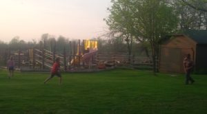 Football practice!